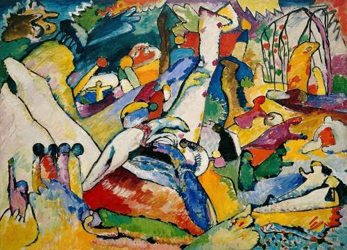 Kandinsky Sketch for Composition II