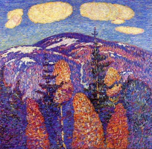 Cosmos-The-Mountains-Marsden-Hartley-oil-painting-1