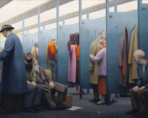 George Tooker- The Waiting Room