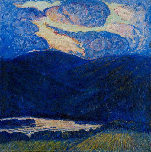 marsden-hartley--an-evening-mountainscape
