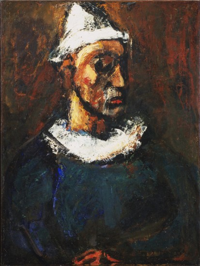 Georges Rouault Profile of Clown