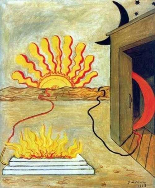 Giorgio de Chirico Sacrifice to the Sun