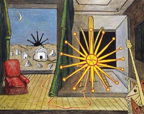 Giorgio de Chirico Sun on the Easel