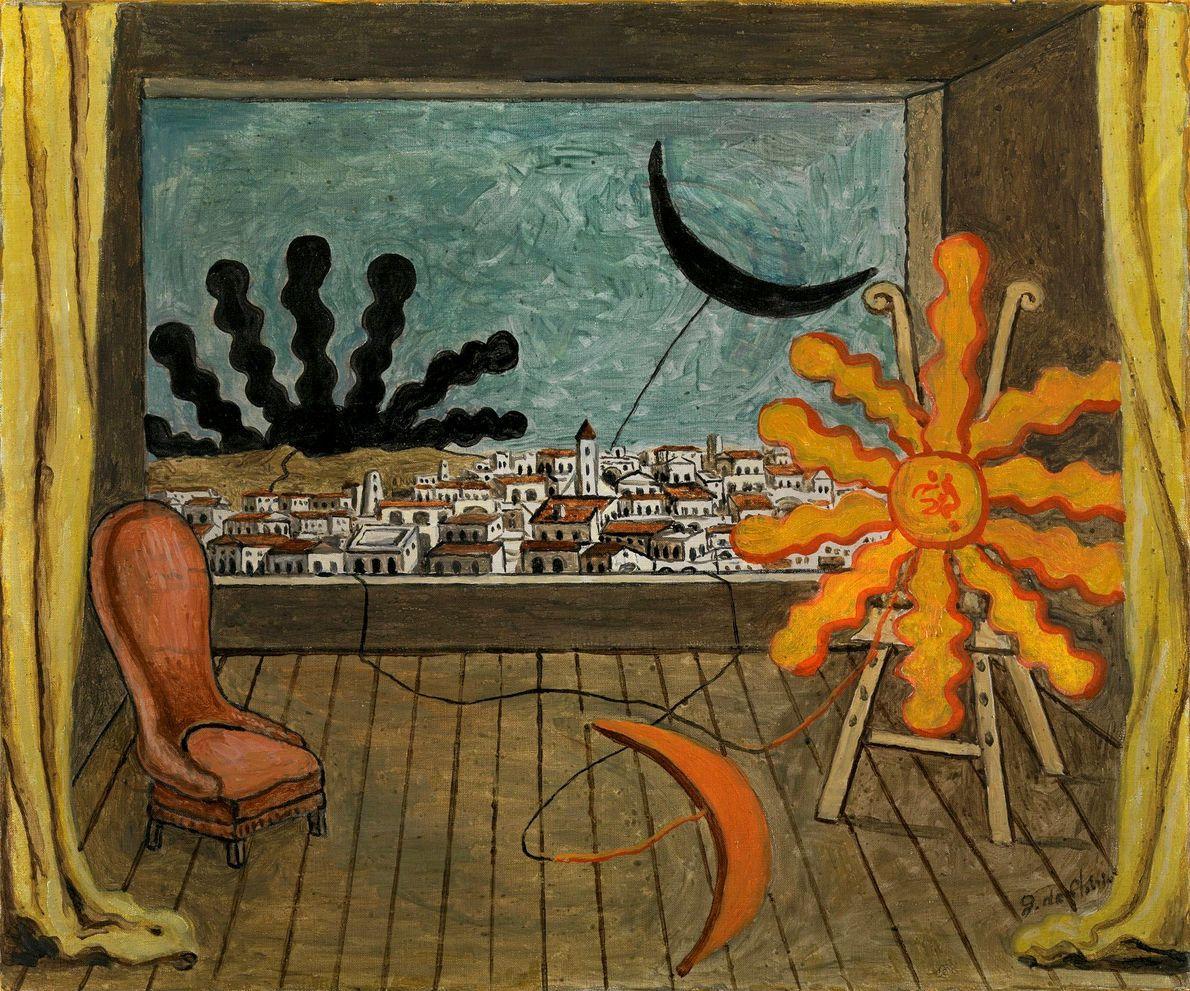 giorgio-de-chirico--the-two-suns