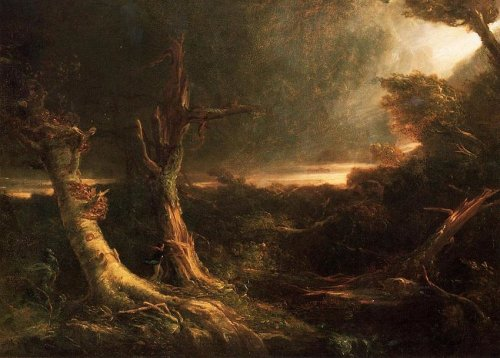 Thomas-Cole-A-Tornado-in-the-Wilderness-1830-