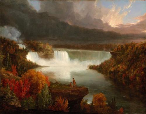 Thomas Cole distant-view-of-niagara-falls-1830