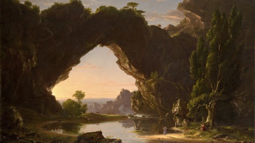 Thomas Cole Evening in Arcady 1843