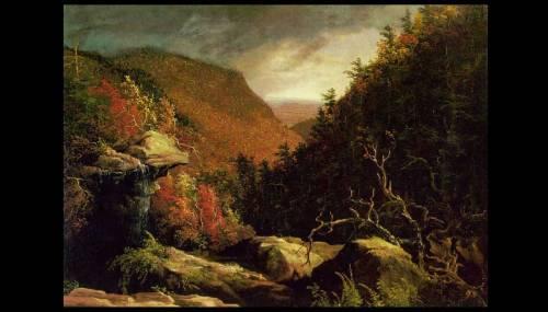 Thomas Cole- The Clove- Catskills 1827